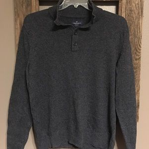 Men's American Eagle Classic Fit Gray Sweater LG